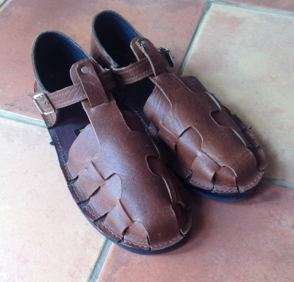 Lizard sandals $115