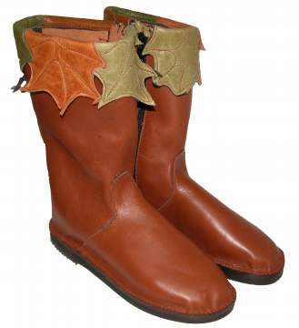 Calf length boots: plain top $195 decorated tops $265. extra measurements need for these boots.